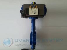 Butterfly Valve c/w Pneumatic Actuator Double or Single